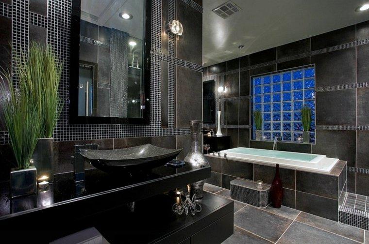 baños originales decorados jarrones