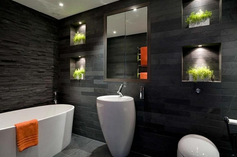 baños originales decorados plantas