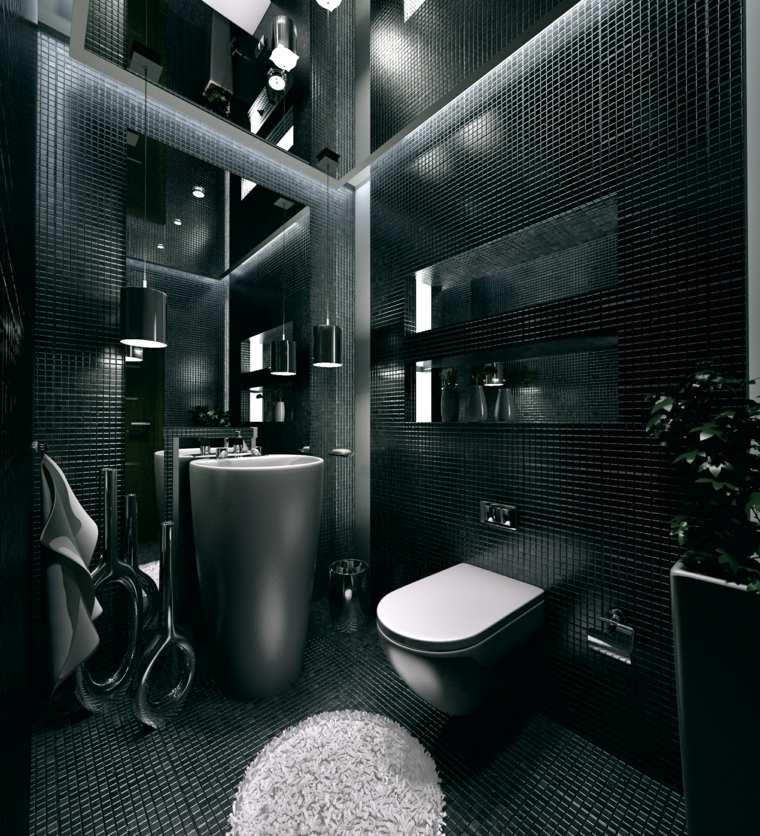 baños originales efecto alargado