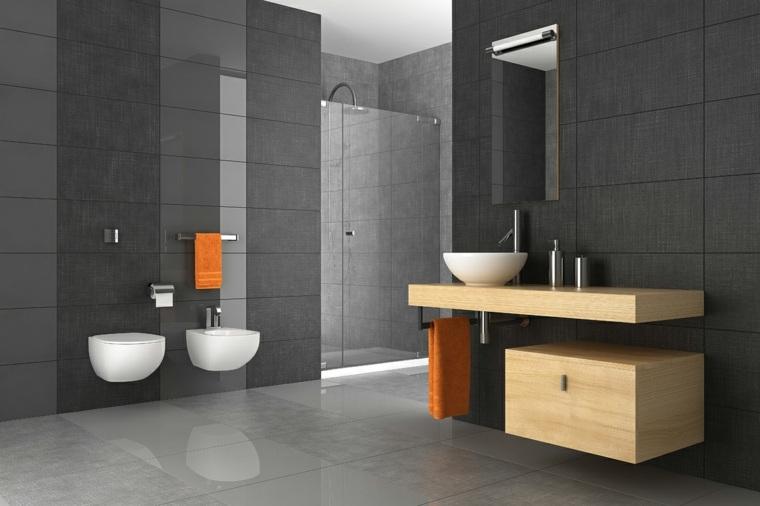 baños originales negro otros colores