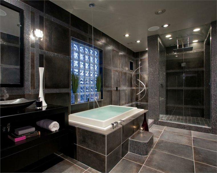 baños originales negro velas
