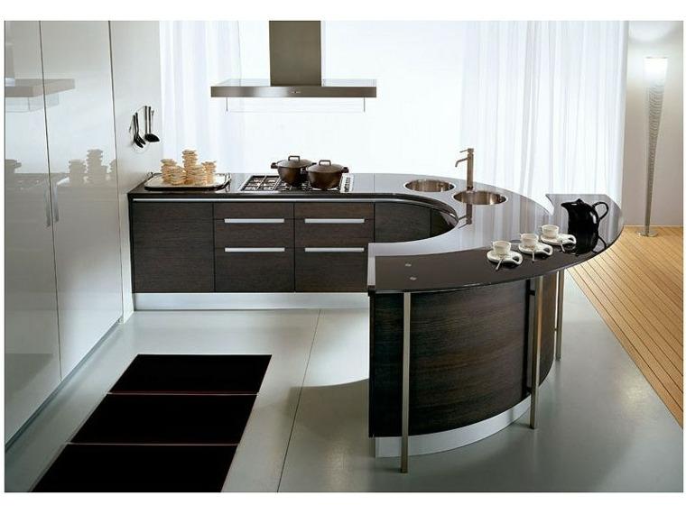 Cocinas con barra para nuestro hogar - Barras para cocinas ...