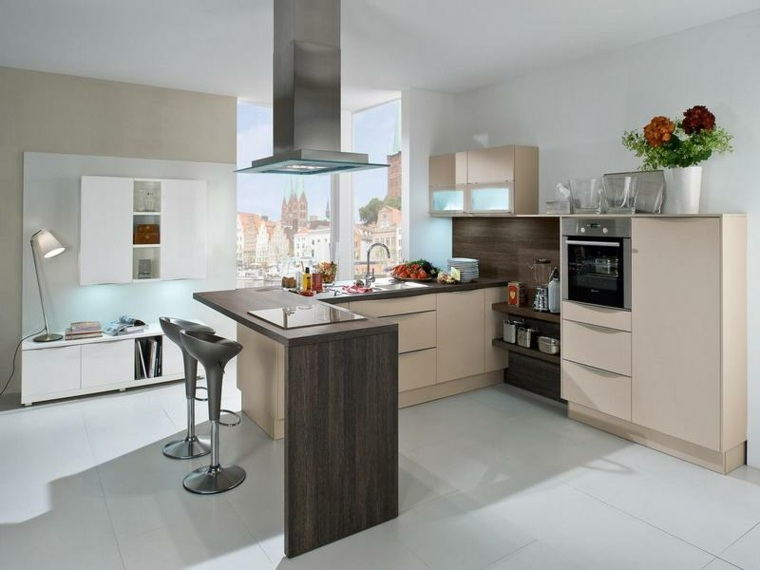 Cocinas con barra para nuestro hogar - Sillas para barras de cocina ...