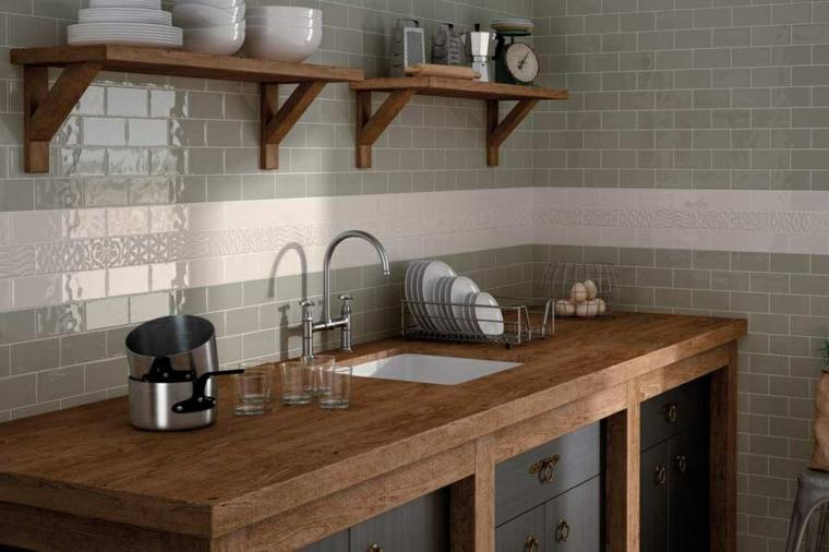 bella cocina rustica especial lados