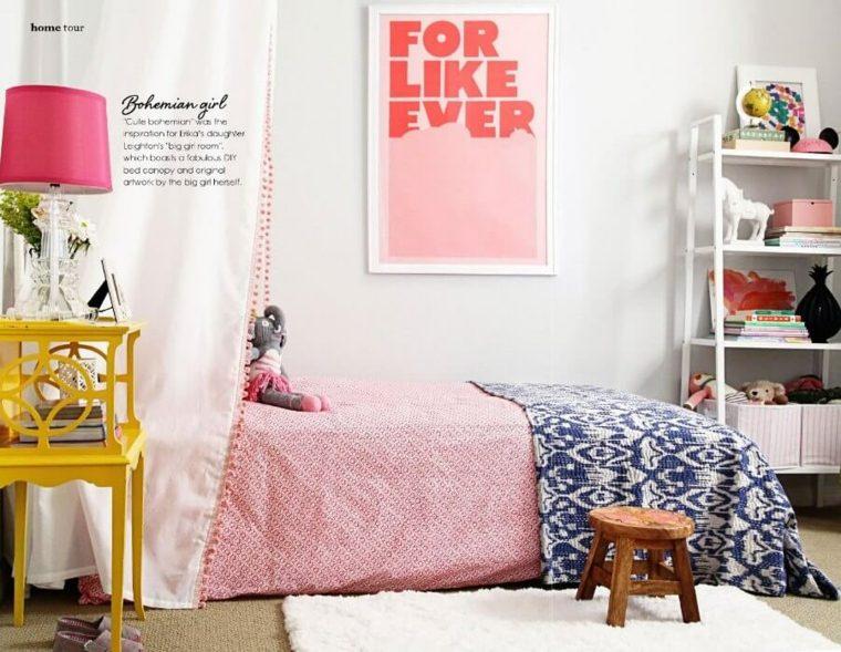 bonita decoración cuarto juvenil