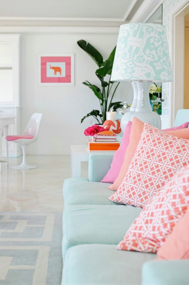 Colores pastel suaves para decorar tu hogar 24 ideas for Decorar hogar ideas