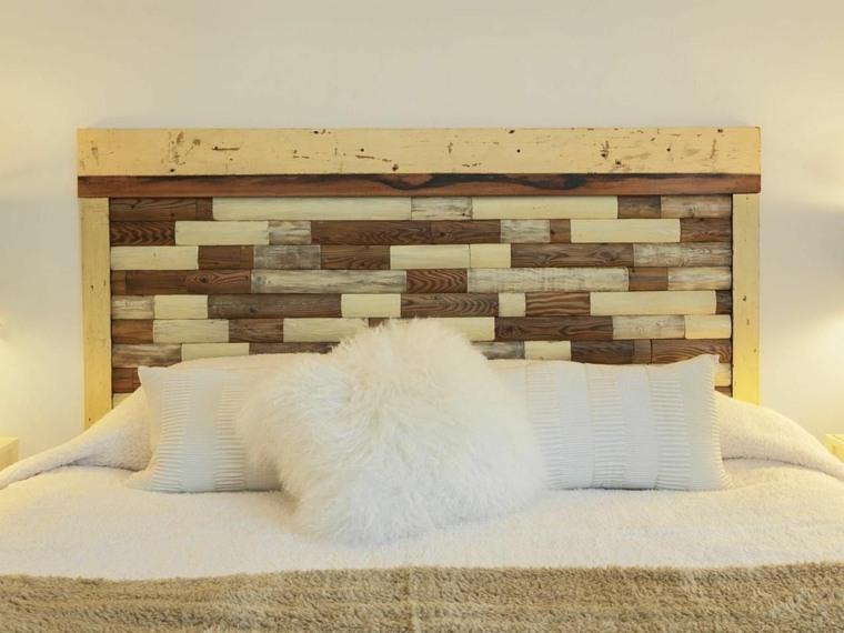 cabeceras para camas madera
