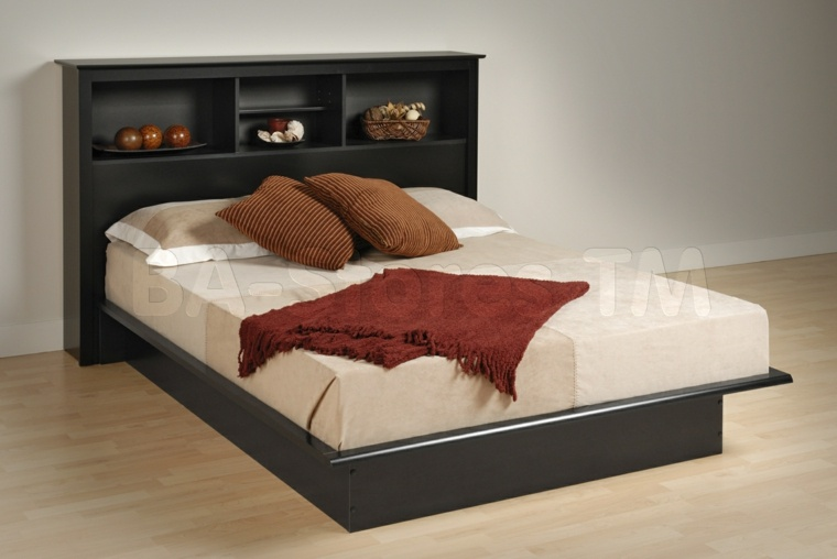 Cabeceros para camas muy originales - Camas sin cabecero ...