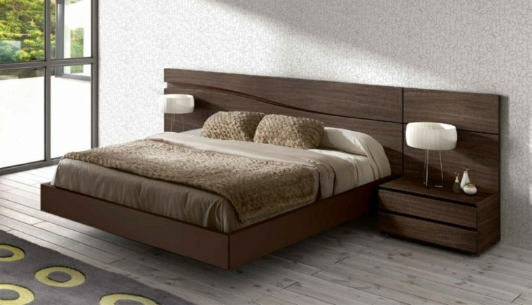 Cabeceros para camas muy originales - Cabezales de cama de madera ...