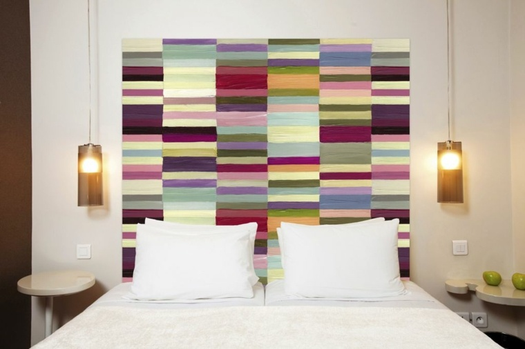 cabezal para cama colores