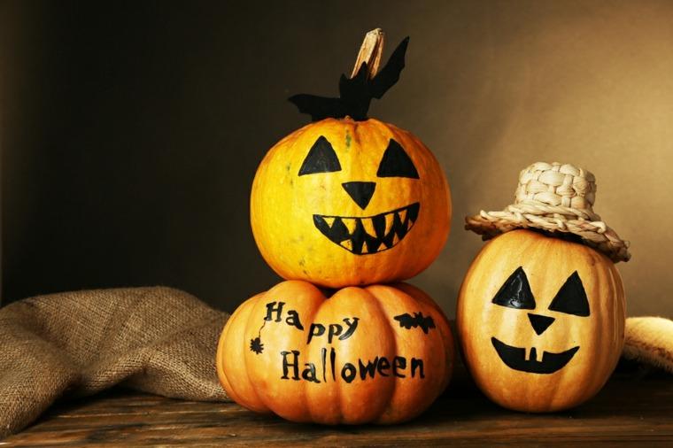 Calabazas de halloween c mo decorarlas - Disenos de calabazas de halloween ...
