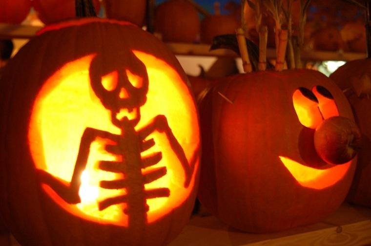 calabazas de halloween interesantes