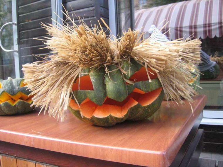 Calabazas de halloween c mo decorarlas - Calabazas pintadas y decoradas ...