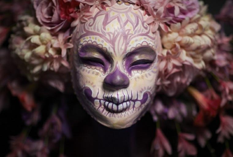 diseño maquillaje original Halloween