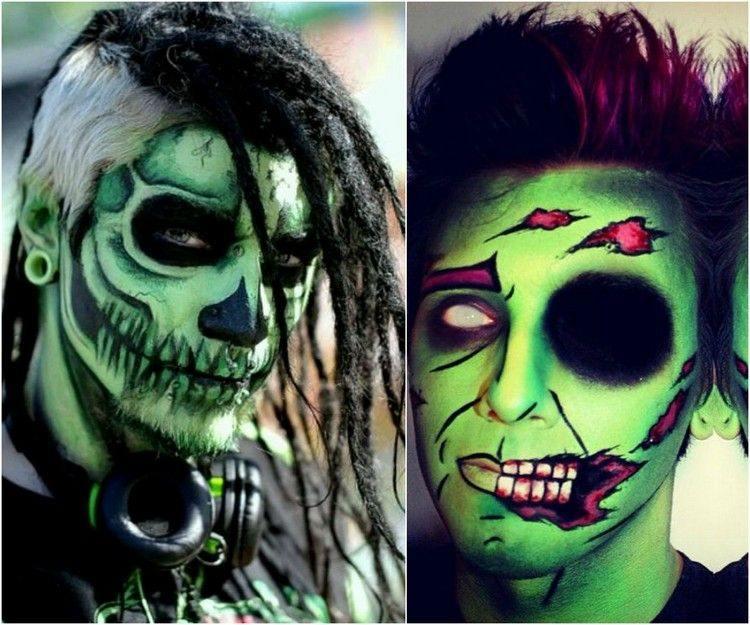 Maquillajes en Halloween más de 40 ideas para rostro y manos