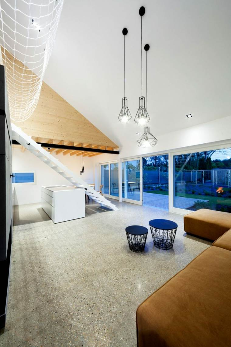 casa practica concepto abierto redes