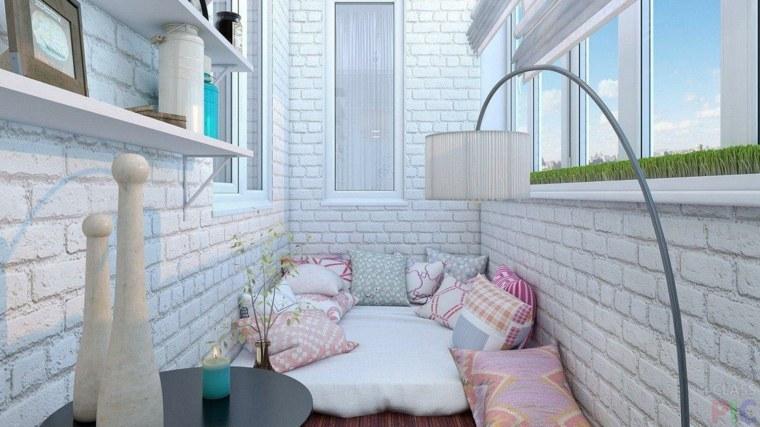 cerramiento de terraza decorar cama