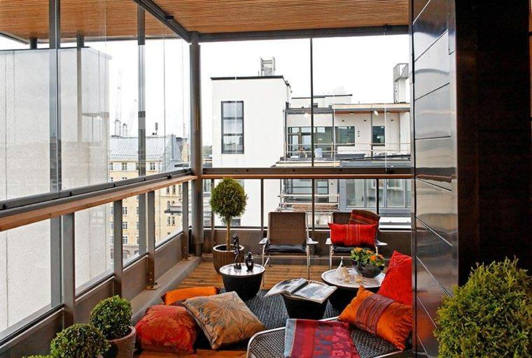 cerramiento de terraza vidrieras