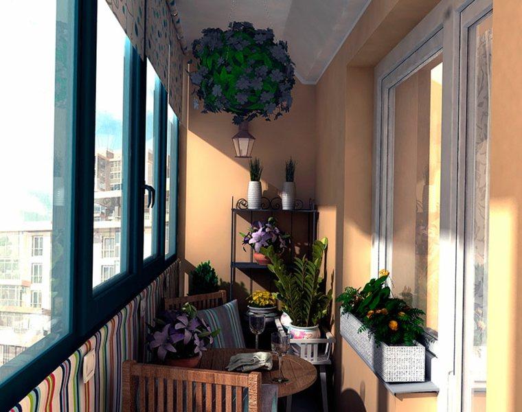 cerramiento de terrazas decorar plantas