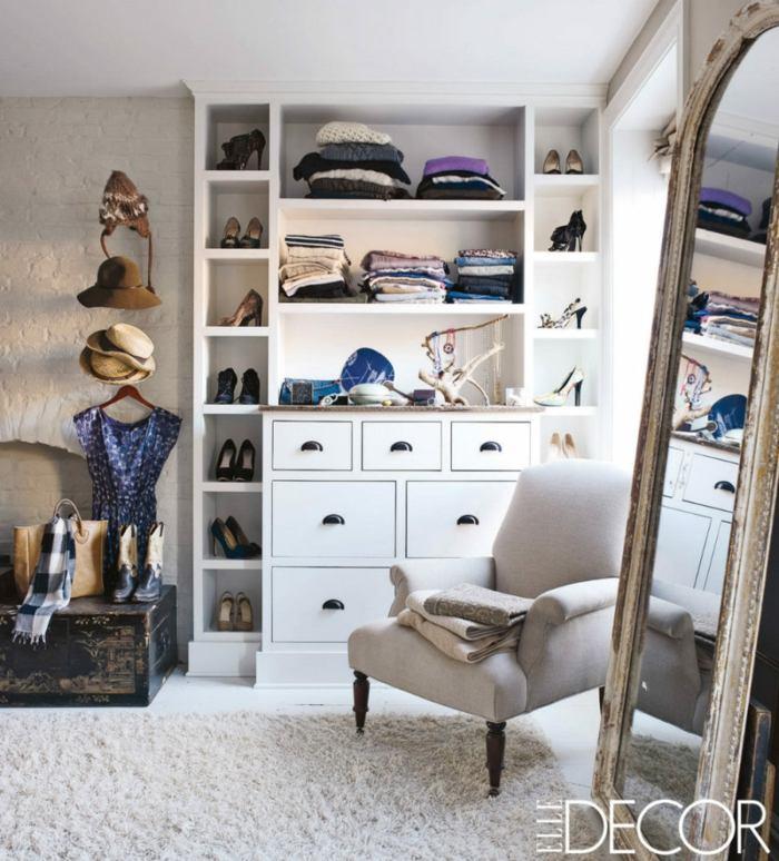 closet elle decor estantes materiales espejos
