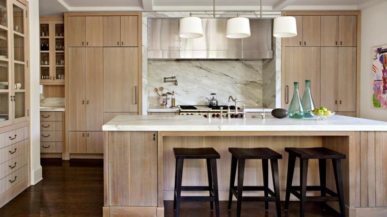 Muebles de madera modernos ideas para cada habitaci n - Cocinas madera modernas ...