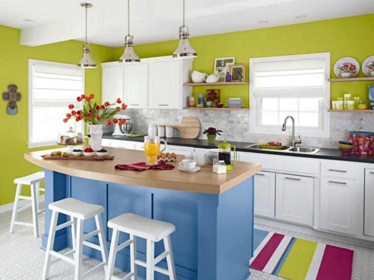 cocinas colores blanco especiales materiales vida
