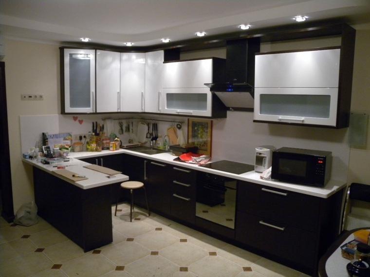 Cocinas con barra para nuestro hogar - Barras para cocinas pequenas ...