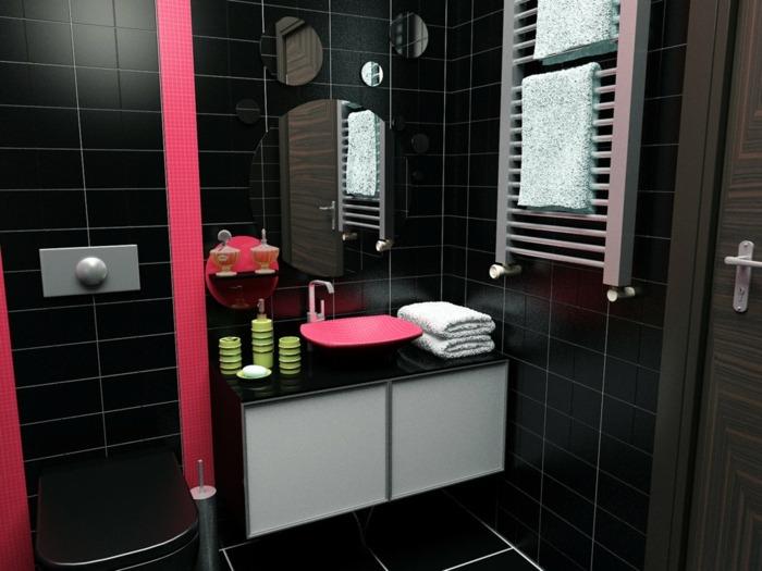 Porque Hago Del Baño Verde Oscuro:Color negro diseño elegante para ...