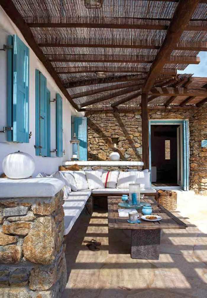 Mikonos 42 incre bles soluciones de dise o para las terrazas - Soluciones para terrazas ...