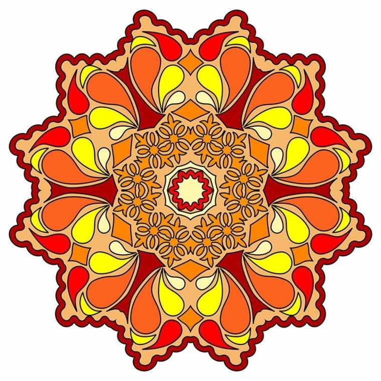 colores para pintar mandalas