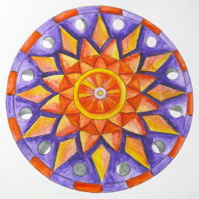 cómo pintar un mandala