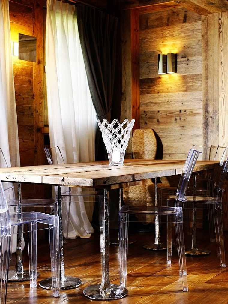 comedor diseno casa rustico ideas mesa madera Gianpaolo Zandegiacomo