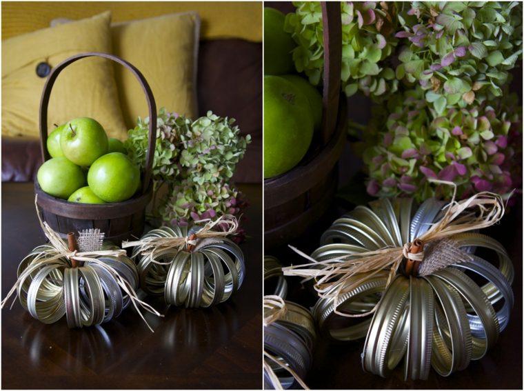 cómo decorar una calabaza casera