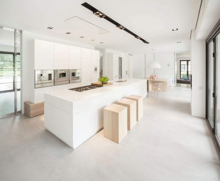 como decorar una casa cocina disenado De Brouwer Binnenwerk ideas