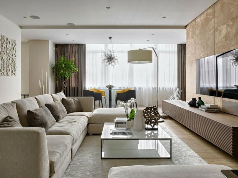 como decorar una casa espacio disenado Aleksandra Fedorova Bureau ideas