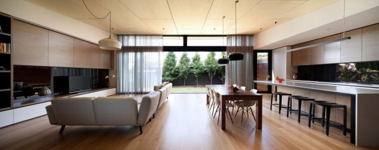 como decorar una casa espacio disenado Chan Architecture ideas