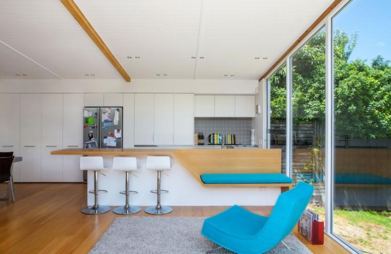 como decorar una casa espacio disenado Dorrington Atcheson Architects ideas