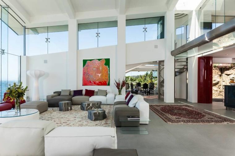 como decorar una casa espacio disenado Eric Miller Architects ideas