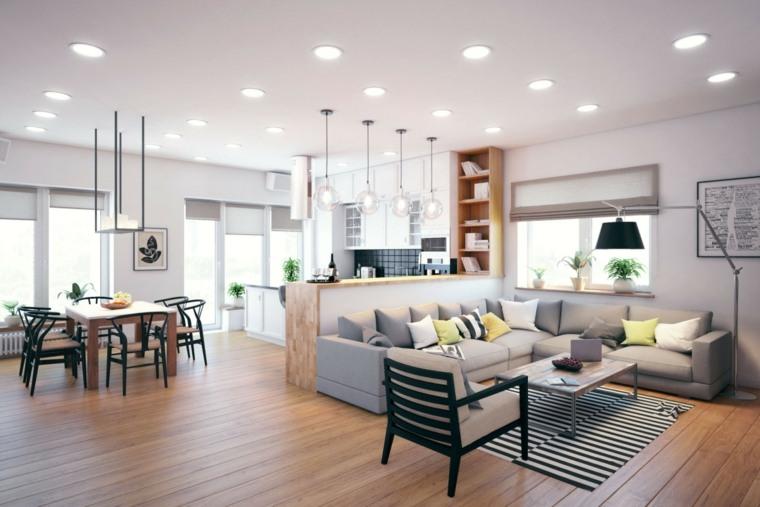 como decorar una casa espacio disenado Geometrium ideas