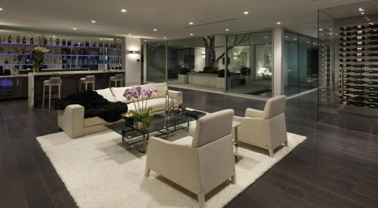 como decorar una casa espacio disenado McClean Design salon ideas