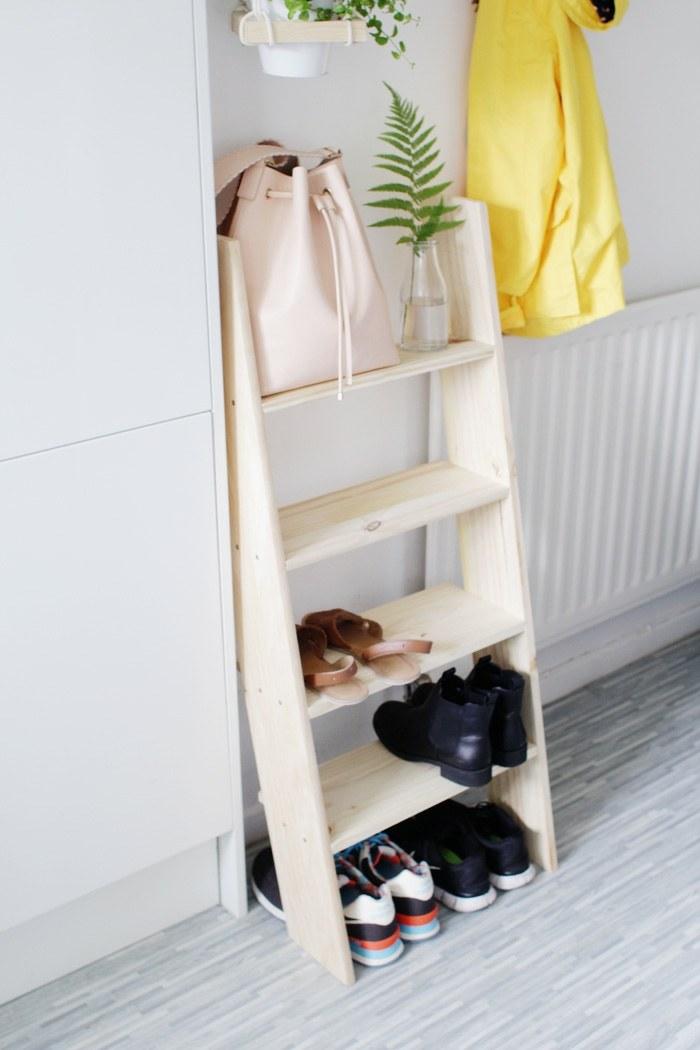 Como hacer un zapatero que ahorre espacio for Como hacer una zapatera de madera sencilla