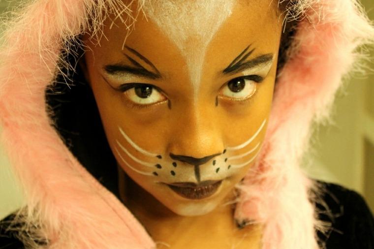 cómo maquillar a un niño para halloween