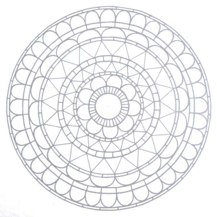 cómo pintar mandala círculos