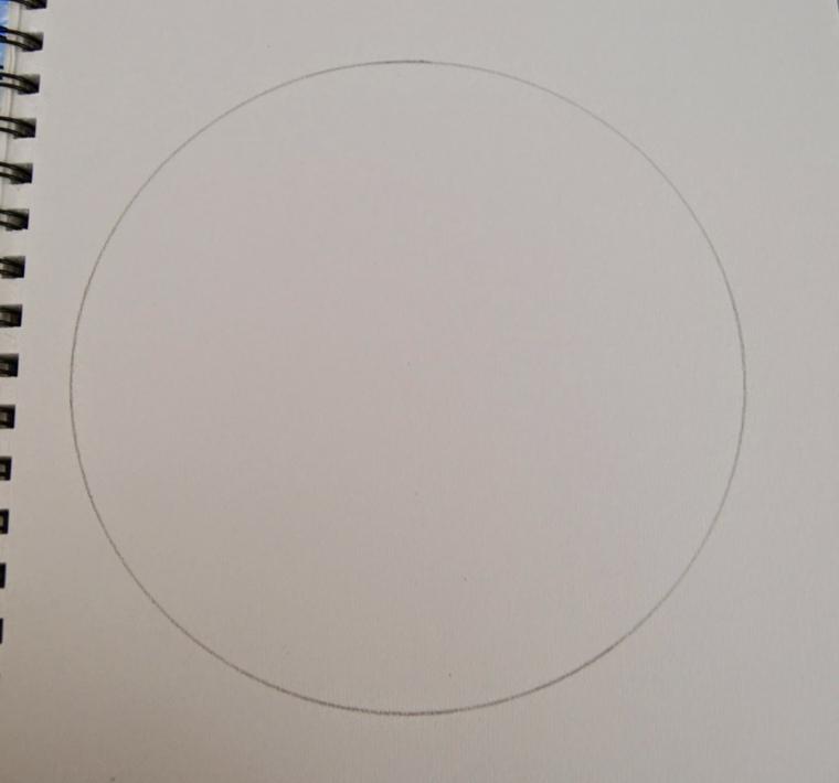 cómo pintar mandala compás