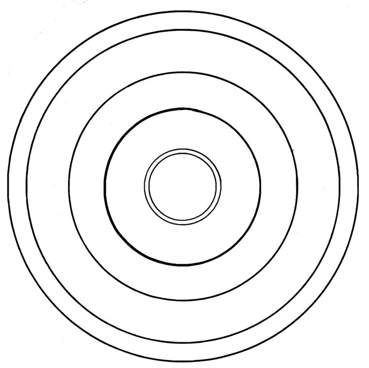 cómo pintar un mandala circular