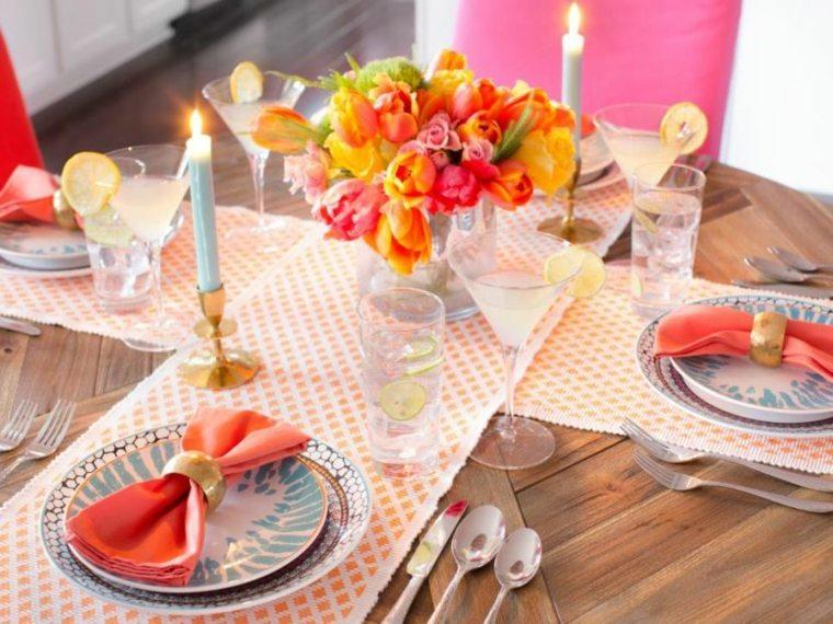 cómo poner la mesa decoración