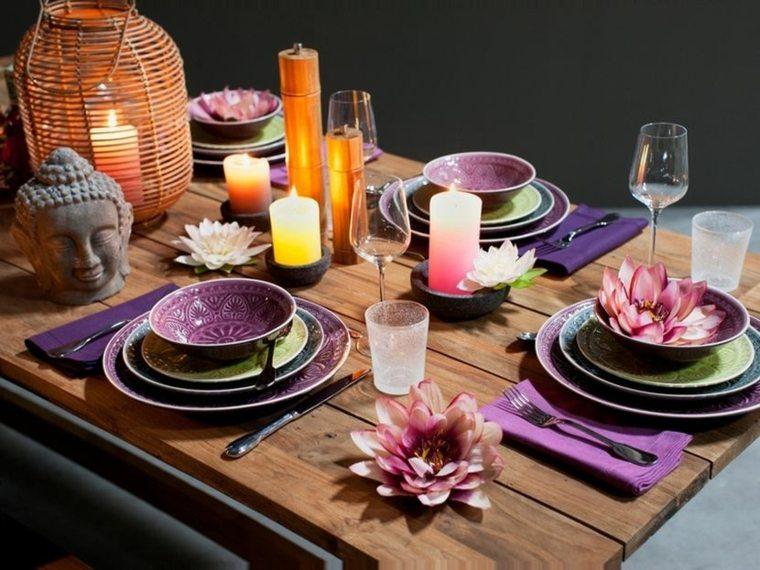 cómo poner la mesa decorar