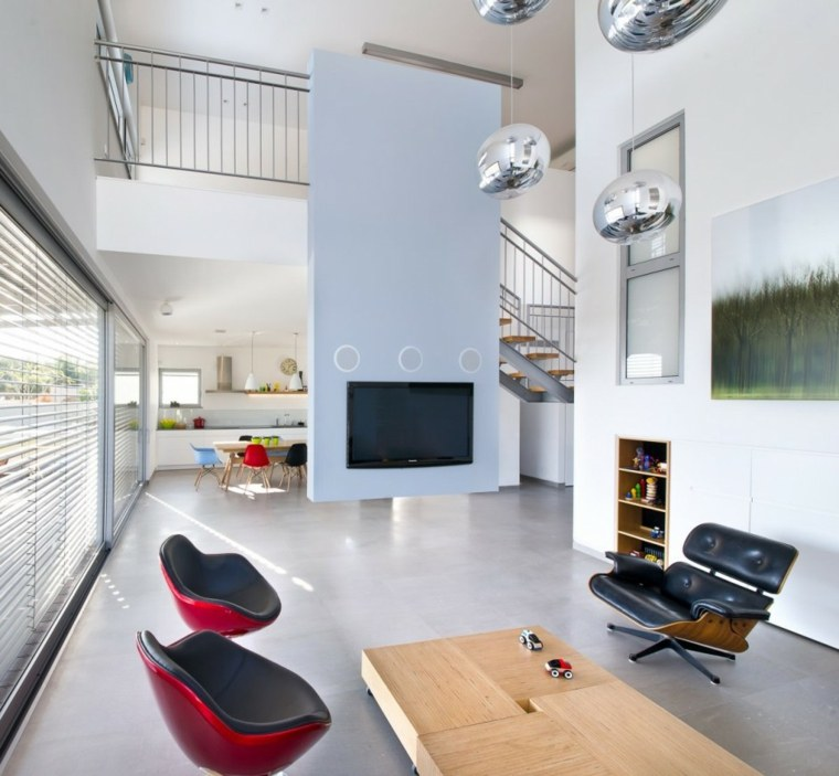conjunto sillas eames modernas colores