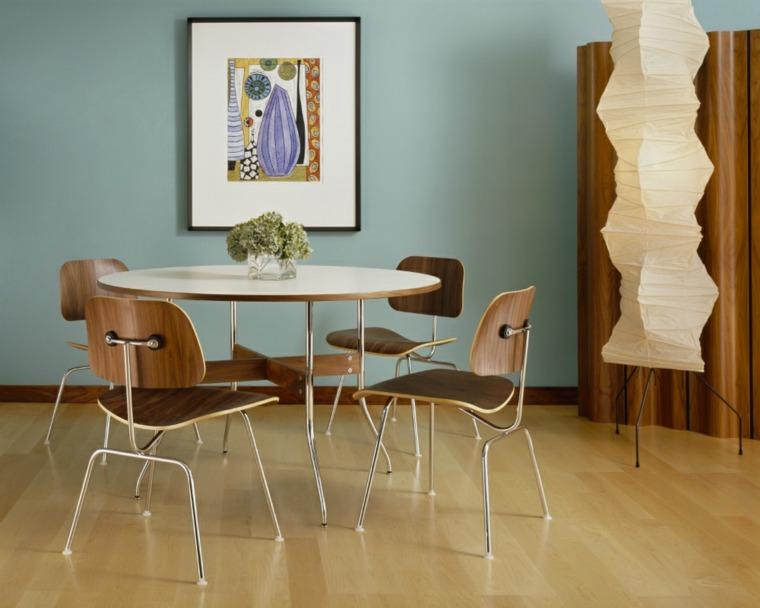conjunto sillas Eames comedor