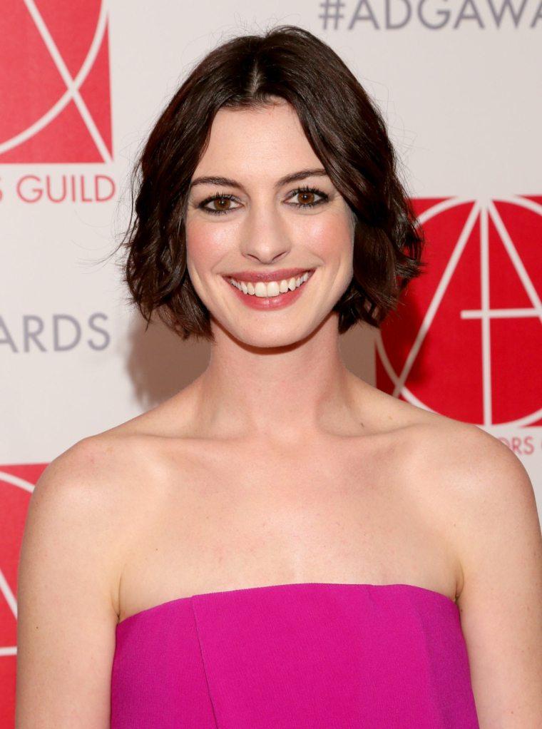 cortes de pelo de moda otono 2016 Anne Hathaway ideas